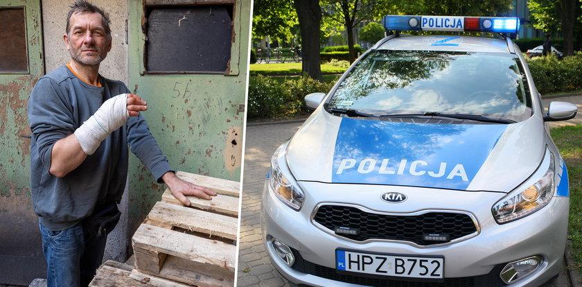"""""""Mogą mnie zwolnić, ale jadę z tym człowiekiem do szpitala"""". Policjant nie wahał się ani chwili, uratował 51-latkowi życie"""