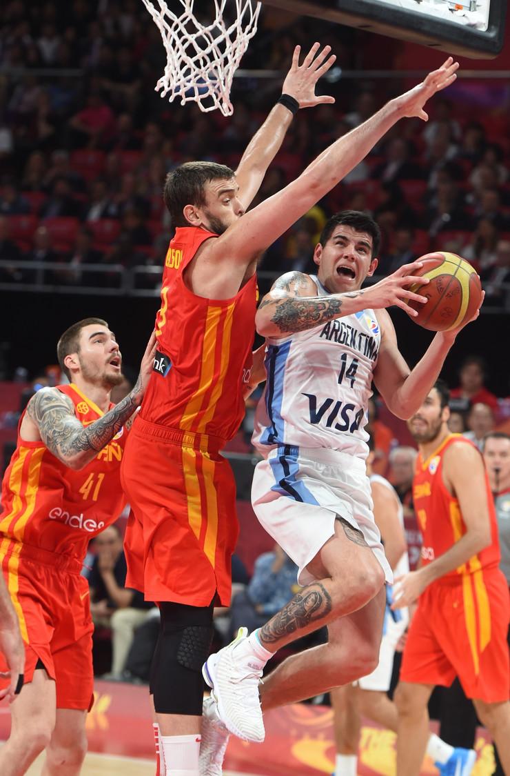 Košarkaška reprezentacija Španije, Argentine