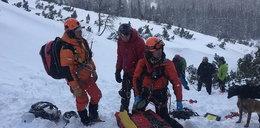 Tragiczny wypadek w Tatrach Słowackich. Lawina porwała dwójkę Polaków