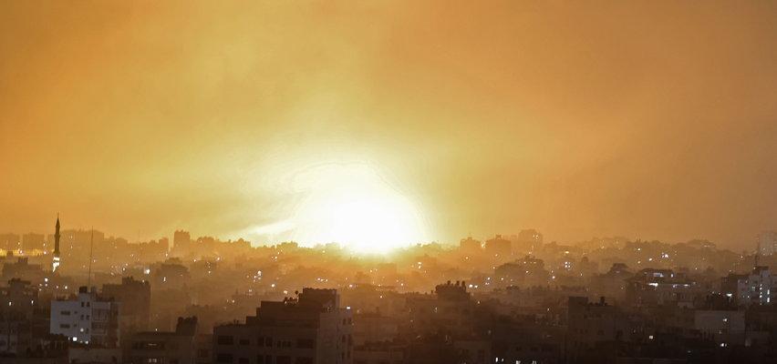 """Izrael rozpoczął ostrzał Strefy Gazy. """"Hamas płaci wysoką cenę"""""""