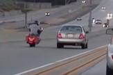 Kalifornija auto motocikl