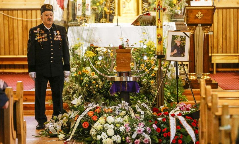 Pogrzeb Jerzego Janeczka.