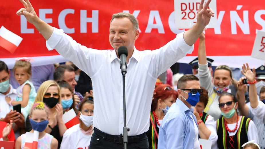 Pięć lat Andrzeja Dudy w liczbach. Jak wyglądała jego prezydentura