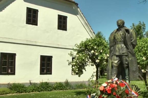 Statua Tita u Kumrovcu