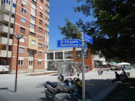Trg Karađorđa u Bujanovcu