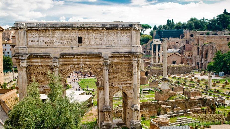 Łuk Septymiusza Sewera w Rzymie
