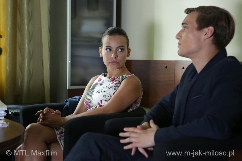 Magda (Anna Mucha) i Olek (Maurycy Popiel) bardzo się martwią