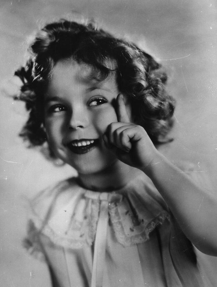 Shirley Temple w 1934
