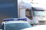 kamion preminulog vozača Obrenovac