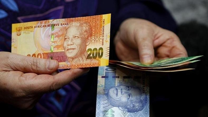South African rand notes