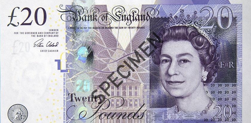 Uwaga! Masz takie banknoty 20 i 50 funtów? Niedługo tracą ważność
