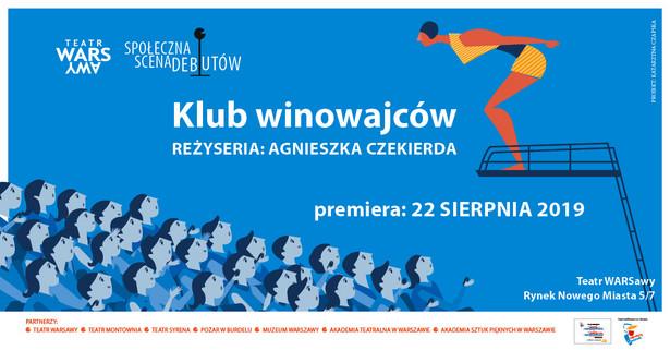Klub winowajców, Teatr WARSawy