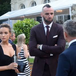 Alicja Bachleda-Curuś i Marcin Gortat oficjalnie razem na spotkaniu z książęcą parą