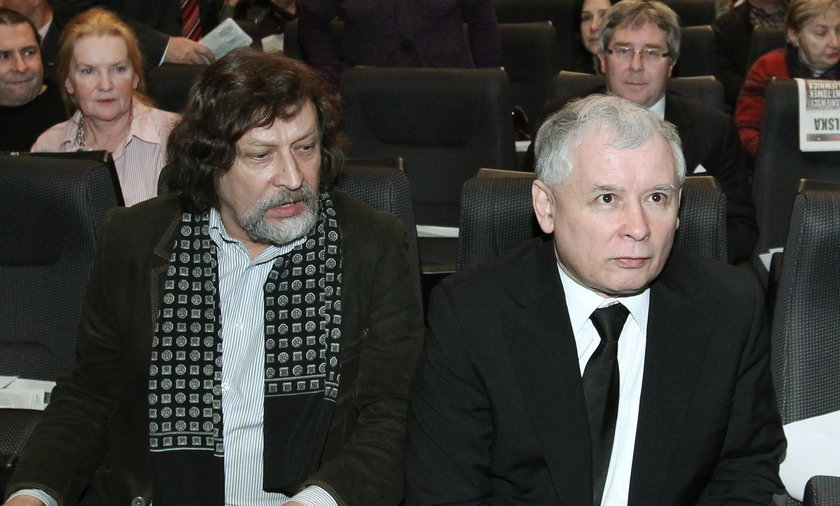 Jan Maria Tomaszewski i Jarosław Kaczyński