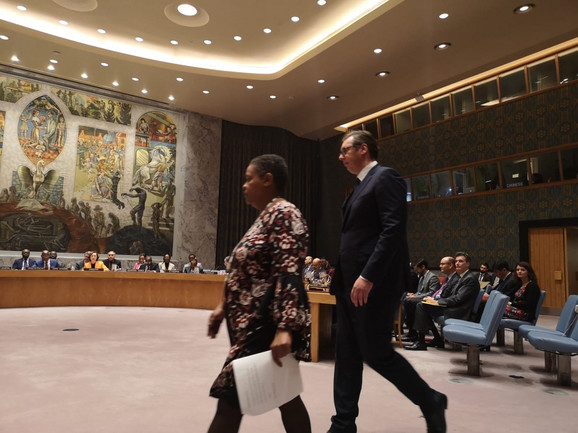 Vučić u UN: Srbija mora da bude okrivljena, da bi se opravdala nečija pogrešna politika