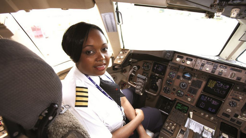 Kenya Airways pilot Captain Irene Koki Mutungi. (Forbes Africa)