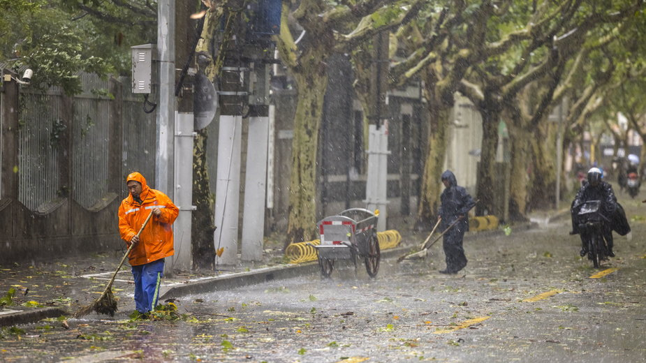 Ulewne deszcze doprowadziły do powodzi  w Chinach