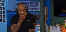 Mike Tyson zjadł na wizji halucynogenne grzyby