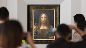 """""""Zagadkowa anomalia"""" w obrazie da Vinci. Mimo to chcą go sprzedać za 100 mln dol."""