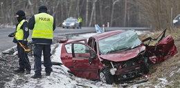 Makabryczny wypadek. Ford staranował naukę jazdy