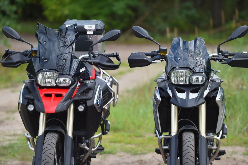 BMW F800GS Adventure vs BMW F800GS