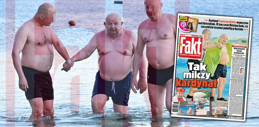 Śledczy papieża deptali mu po piętach, a on... był na rajskich wakacjach w Chorwacji. Tak wypoczywał kardynał Dziwisz [MAMY ZDJĘCIA]