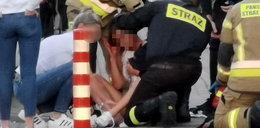 Dantejskie sceny w Kołobrzegu. Zakrwawiona dziewczynka i ranna kobieta na osiedlu