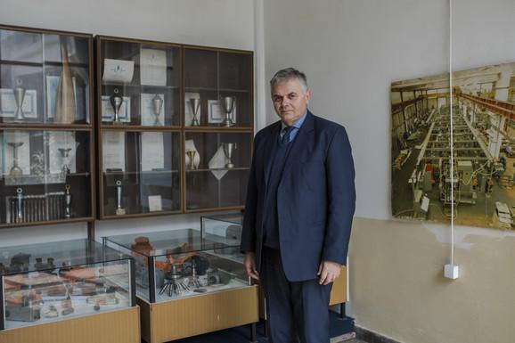 Ljubisav Panić, generalni direktor