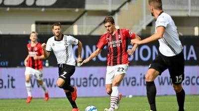 'It was hard', says Daniel Maldini after fairytale full Serie A debut