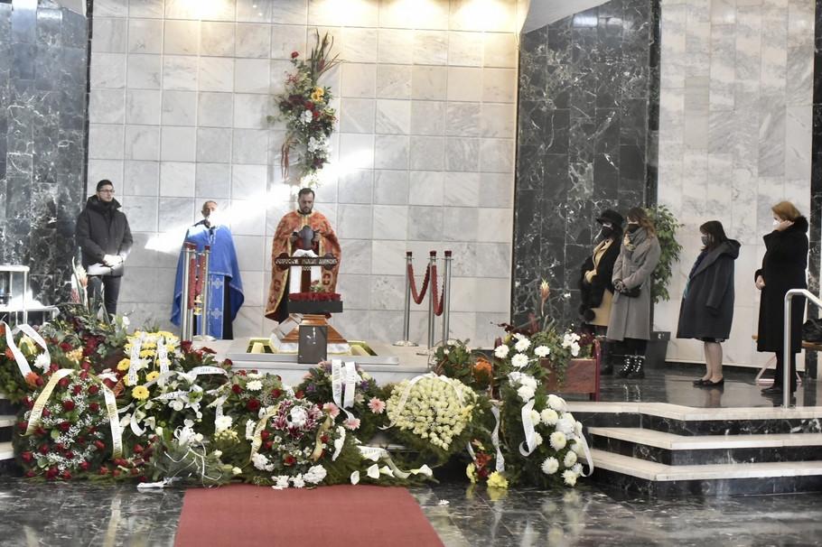 Miša Aleksić - kremacija