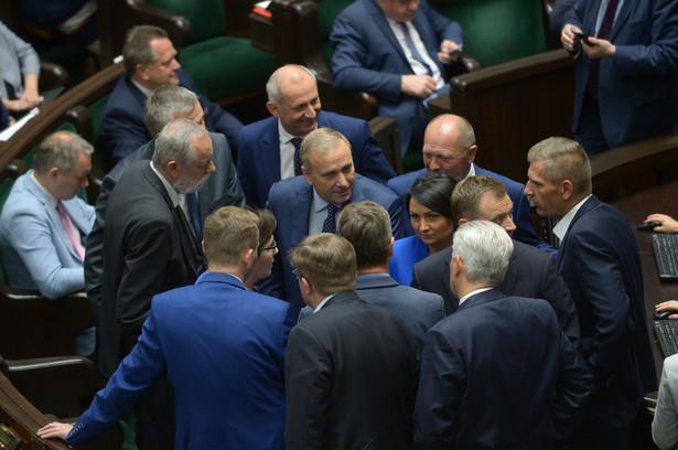 Lider Platformy Obywatelskiej Grzegorz Schetyna, PAP/Marcin Obara