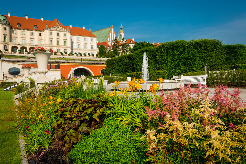 Gardens of the Royal Castle i Warszawa
