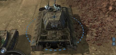 "Screen z gry ""Company of Heroes: Opposing Fronts"""