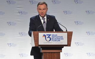 Prezydent: Państwa Trójmorza są współtwórcami Europy Środkowej - sprawczej i podmiotowej