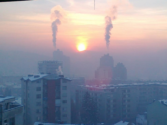 Zagađen vazduh u Užicu