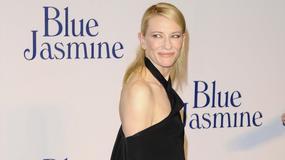 """Cate Blanchett na premierze filmu """"Blue Jasmine"""" w dziwacznej kreacji"""