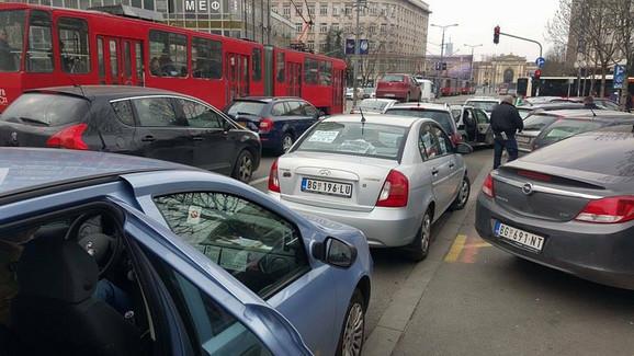 Taksisti su već blokirali ulice u aprilu, tražeći izmene zakona