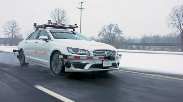 Visteon: na zewnątrz wystarczy uniwersalny pakiet czujników na potrzeby autonomicznej jazdy