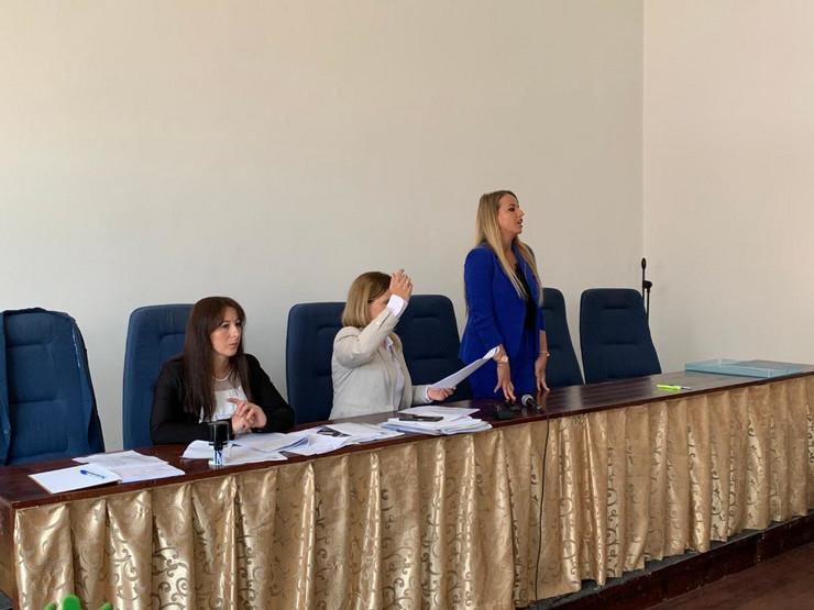 TUTIN Selma Kucevic, nova predsednica Skupstine foto N Kocovic