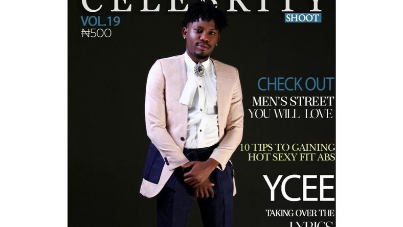 YCEE for Celebrity Shoot Magazine's August 2016 issue