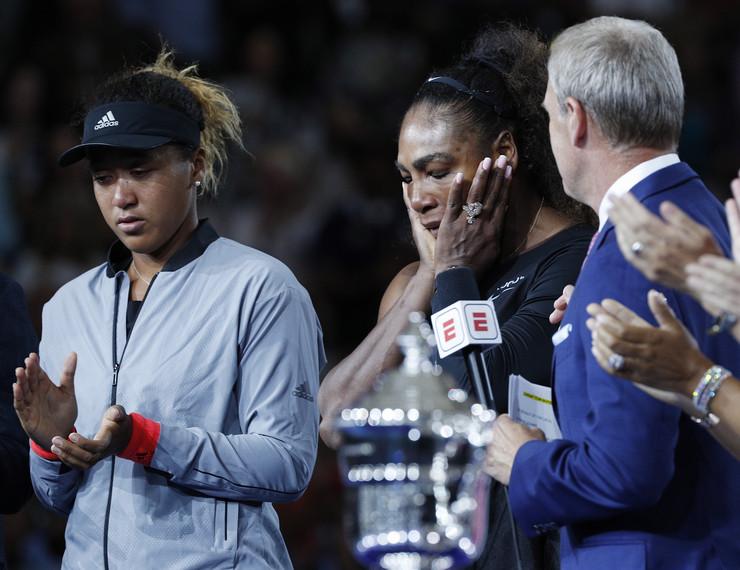 Naomi Osaka, Serena Vilijams