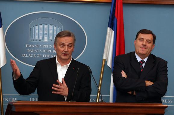 Zajednički stav - što pre formirati vlast: Lagumdžija i Dodik juče u Banjaluci