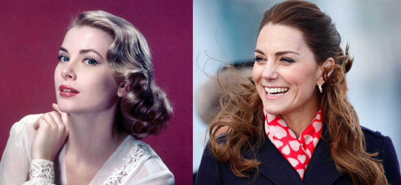 Grace Kelly i Kate Middleton / Getty Images