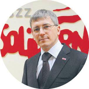 """Marek Lewandowski Komisja Krajowa NSZZ """"Solidarność"""""""