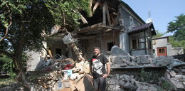 Eksplozja w Czepinie. Wybuch bojlera zmiótł dom z powierzchni ziemi