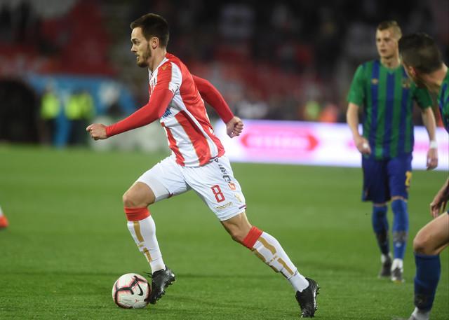 Mirko Ivanić na utakmici protiv Zemuna