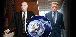 Sasin i Błaszczak chcą wystrzelenia polskich satelitów z Podkarpacia