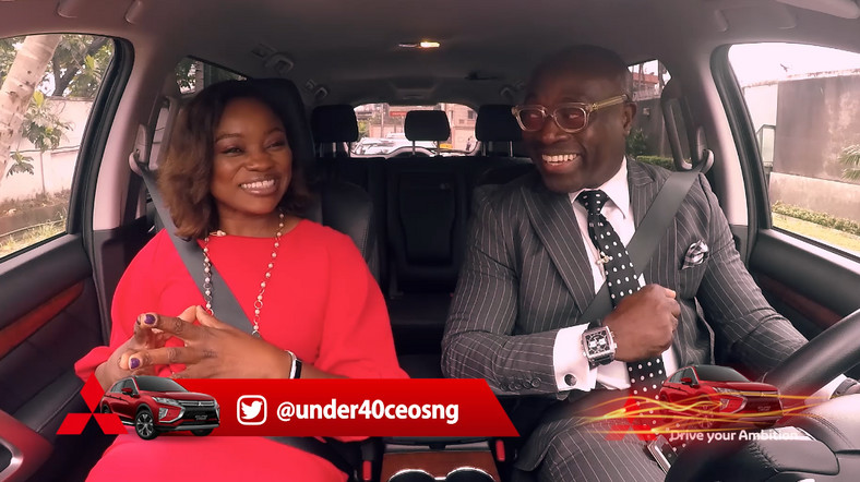Watch! Mitsubishi Motors presents Drive Your Ambition - Under 40 CEOs featuring Abiola Adekoya