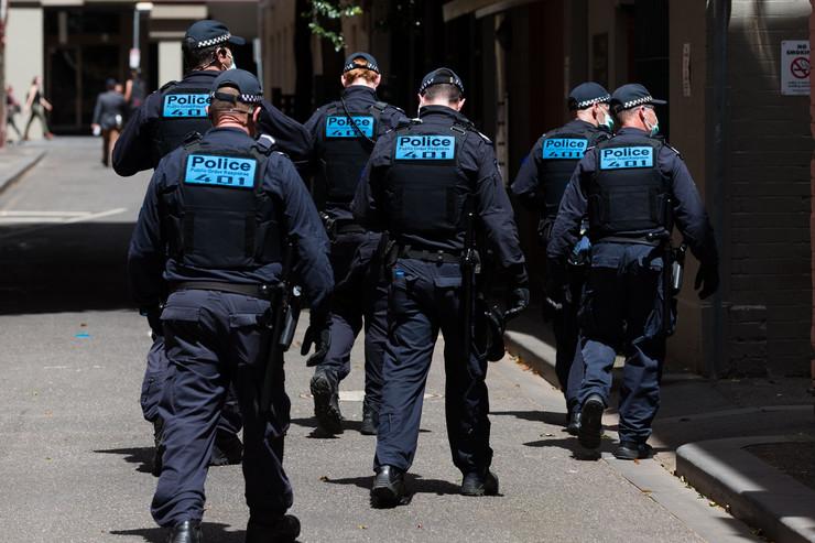 Policija Australija pokrivalica