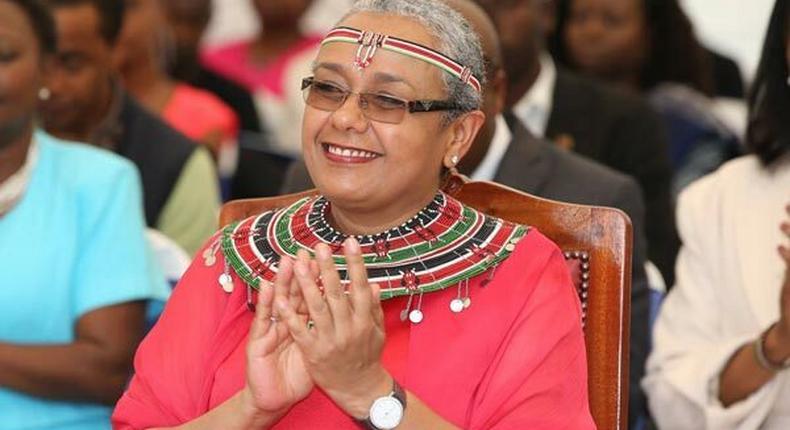 Kenya First Lady Margaret Kenyatta during a past event